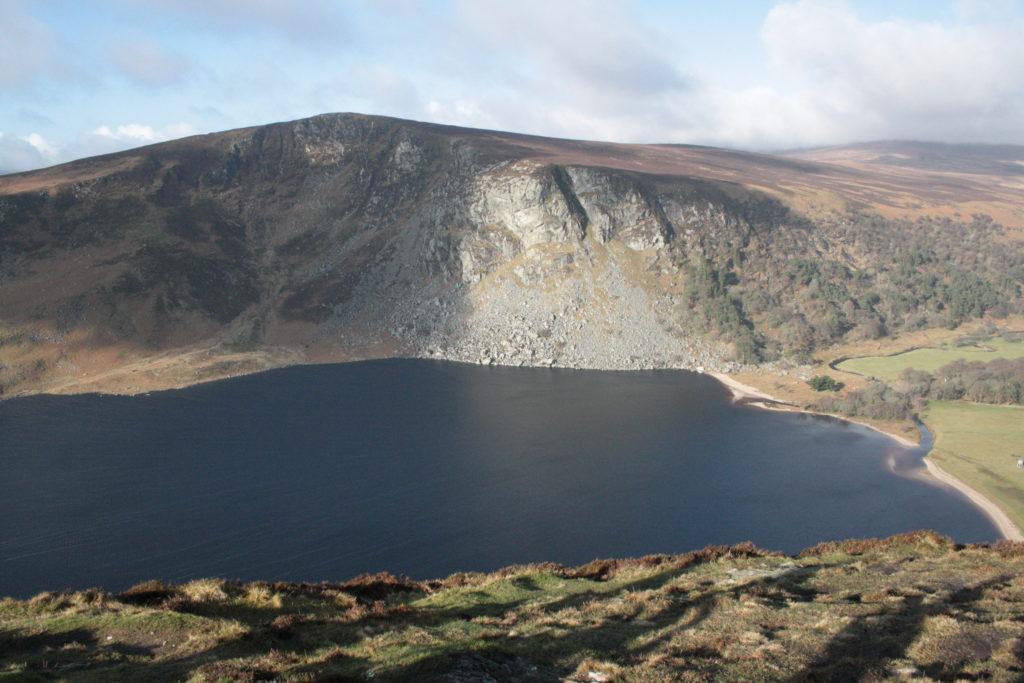 Der Guinness Lake in den Wicklow Mountains