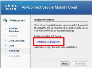 VPN manuelle Installation