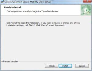 VPN Client Installation