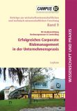 Buchcover Erfolgreiches Corporate Risk Management