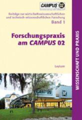 Buchcover Forschungspraxis am Campus 02