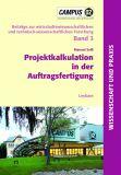 Buchcover Projektkalkulation in der Auftragsfertigung