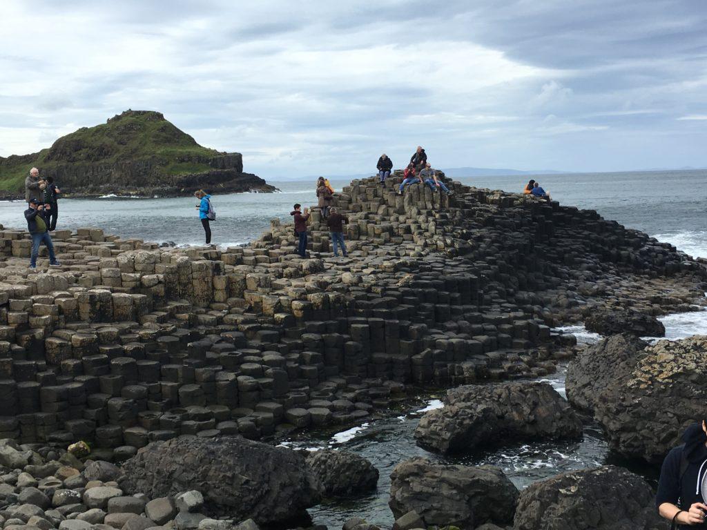 Der Giant's Causeway in Nordirland
