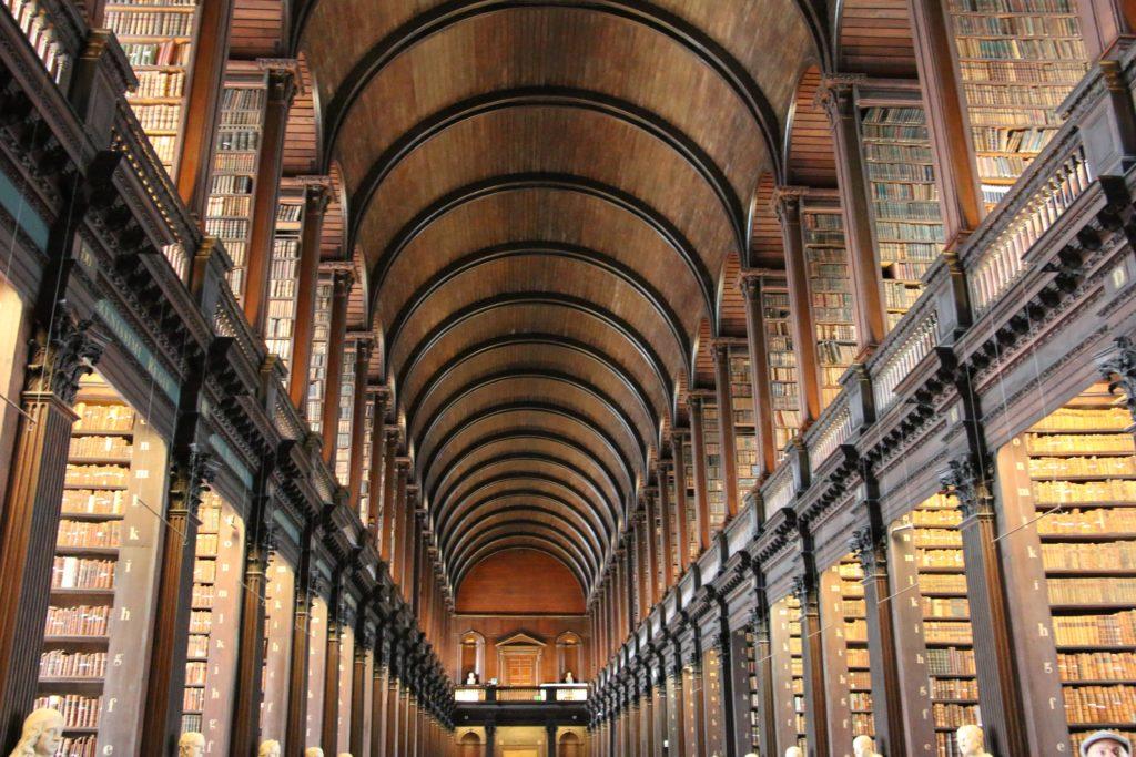 Bibliothek im Trinity Collage