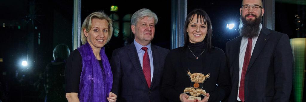Preisüberreichung Lehrpreis 2016