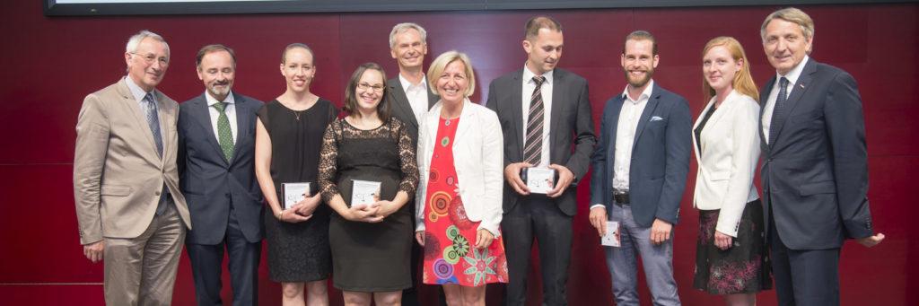Gruppenfoto WKO-Stipendienverleihung 2017