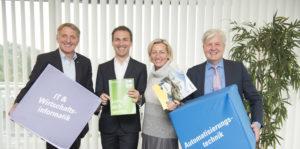 Gruppenfoto Herk, Neubauer, Edlinger-Ploder, Brugger