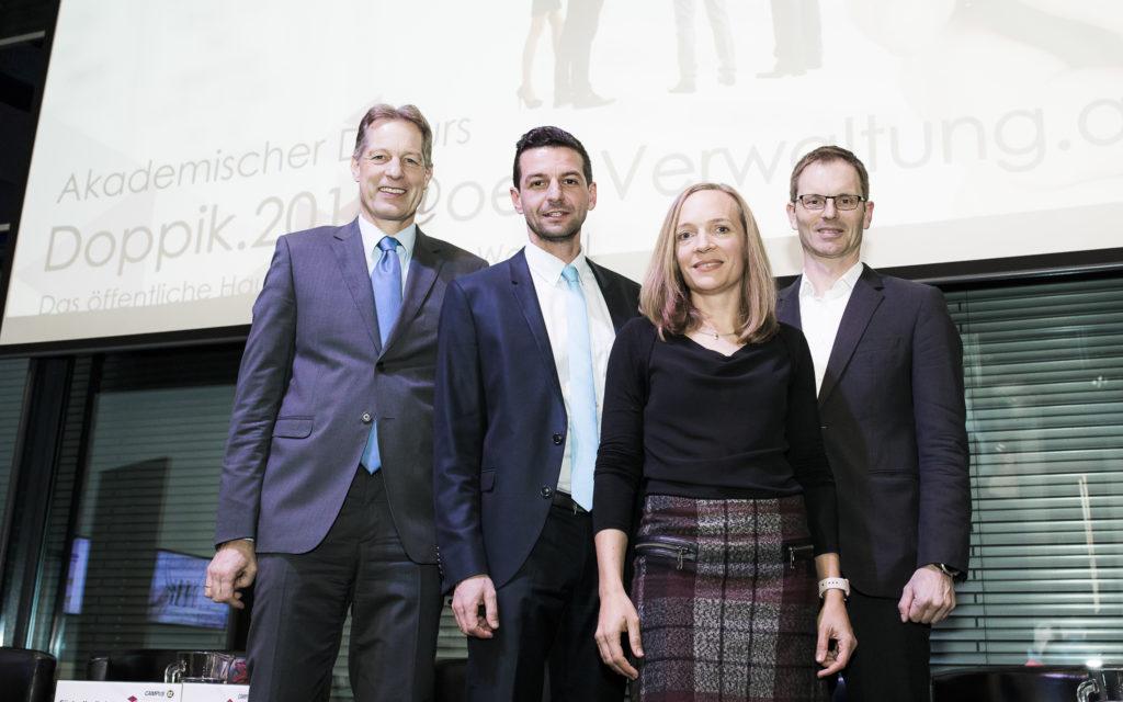 Gruppenfoto Kradischnig, Walchshofer, Meszarits, Reautschnig
