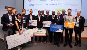 Die stolzen GewinnerInnen der 11. Konferenz der Mechatronik Plattform Österreich.