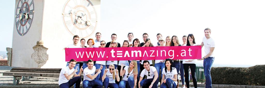 teamazing Team Graz Nahaufnahme